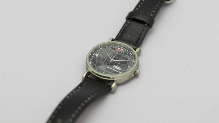 時間を刻む腕時計